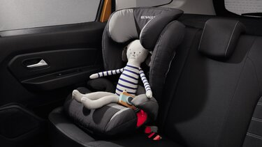 Dacia Duster Duoplus Isofix child seat
