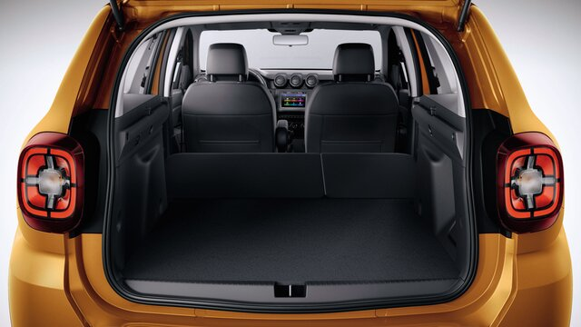Duster interior - Dimensions and specifications