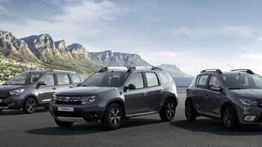 Dacia prices and versions