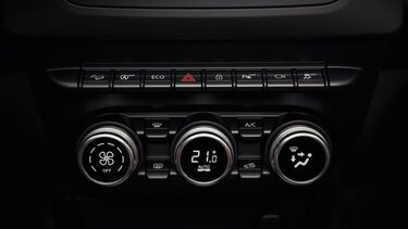 Duster interieur - Automatische airconditioning