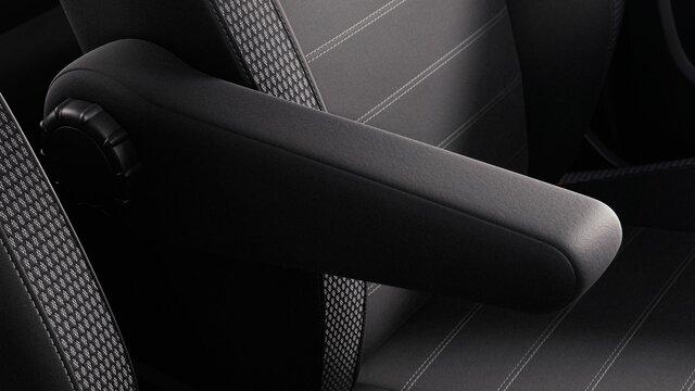 Loketní opěrka u řidiče vozu Dacia Duster