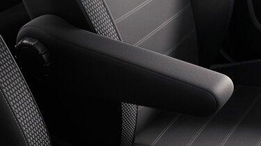 Dacia Duster accoudoir siège conducteur