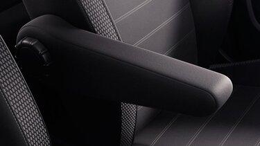 Dacia Duster – naslon za roko na voznikovem sedežu
