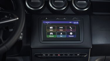 Duster multimedia display - Media Nav Evolution