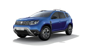 Vue 3/4 avant de Dacia Duster Celebration