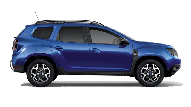 Dacia Duster 15th anniversary Side view