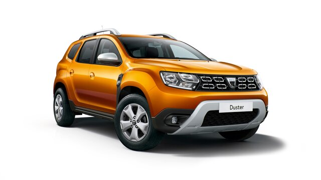 Dacia Duster ECO-G orange face avant