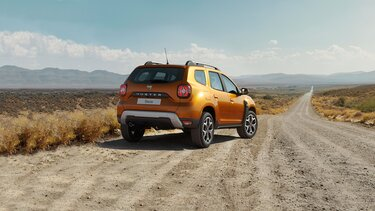 Duster Crossover, orange