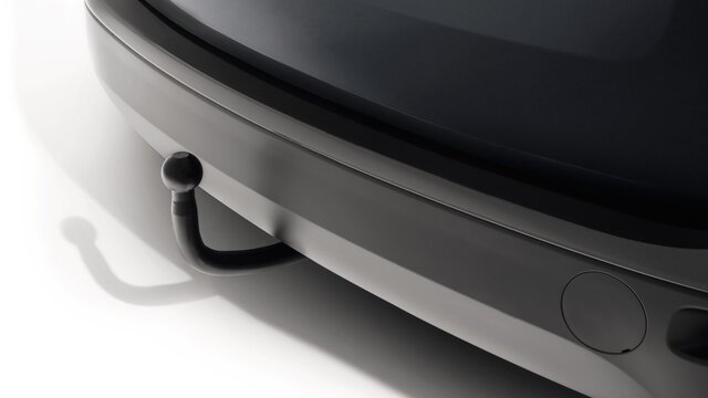 Dacia Lodgy – fiksni vlečni priključek Gooseneck