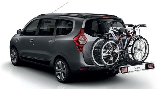 Dacia Lodgy – nosilec za kolesa na vlečnem priključku