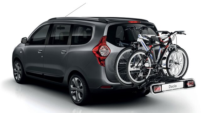 Dacia LODGY – Багажник за велосипеди върху теглич