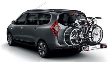 Dacia Lodgy - Anhängerkupplung mit Fahrradträger