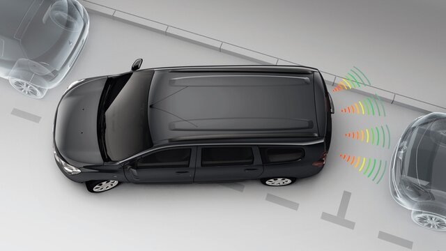 Lodgy Safety - Rear parking assist