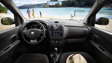 Interiér vozu Dacia Lodgy