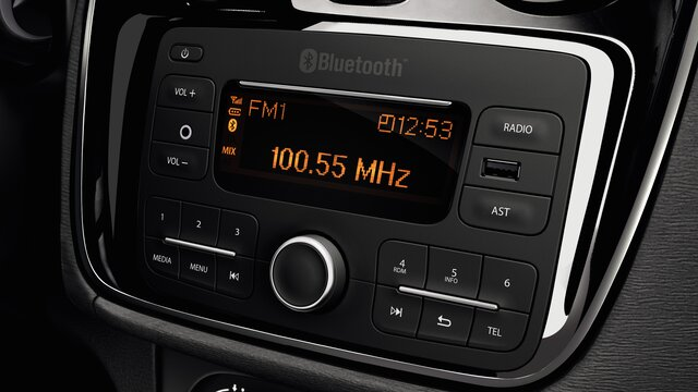 Multimedija v vozilu Lodgy – Dacia Plug&Radio