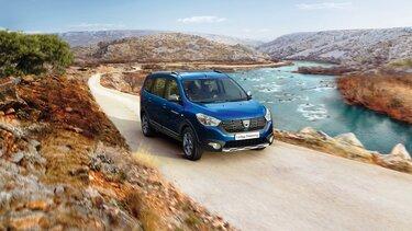Dacia Lodgy – Blå, udvendigt design