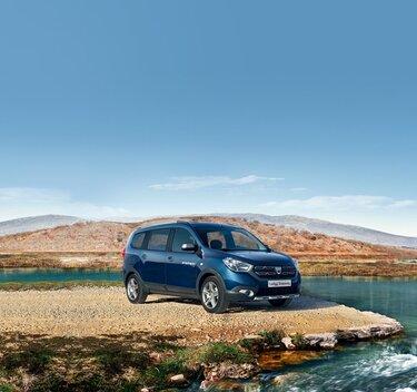Dacia Lodgy Stepway - Exterior azul