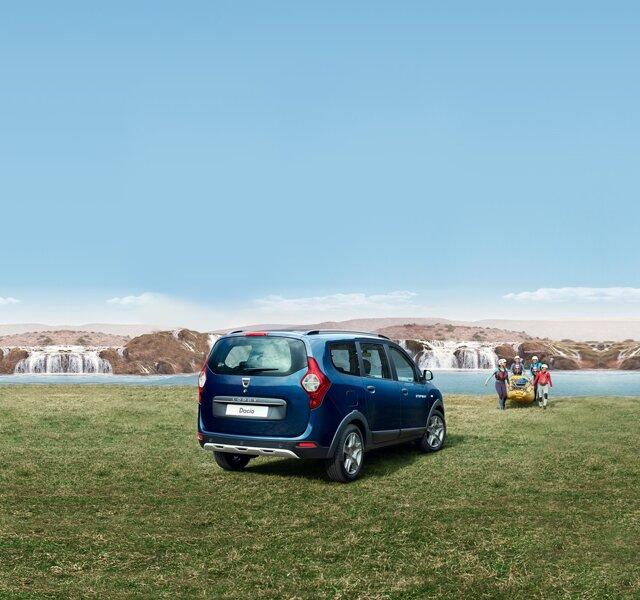 Dacia Lodgy – zunanjost – zadnja stran
