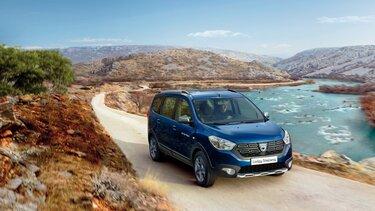 Dacia Lodgy – Blaues Außendesign