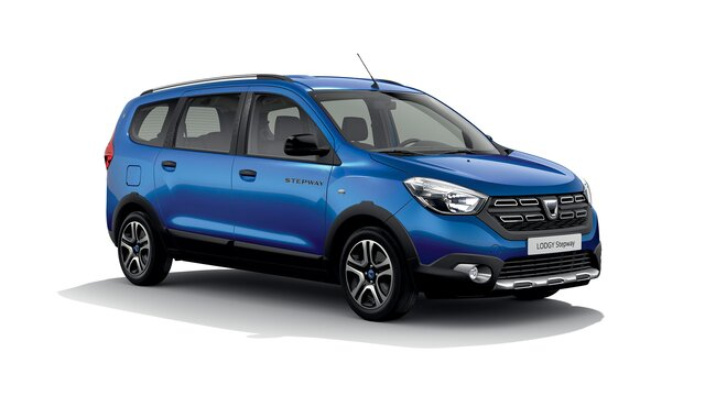 Dacia Lodgy Stepway 15th anniversary Front 3/4 view