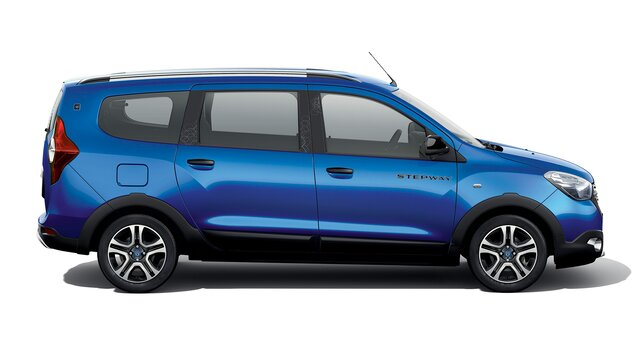 Dacia Lodgy Stepway 15th anniversary Side view