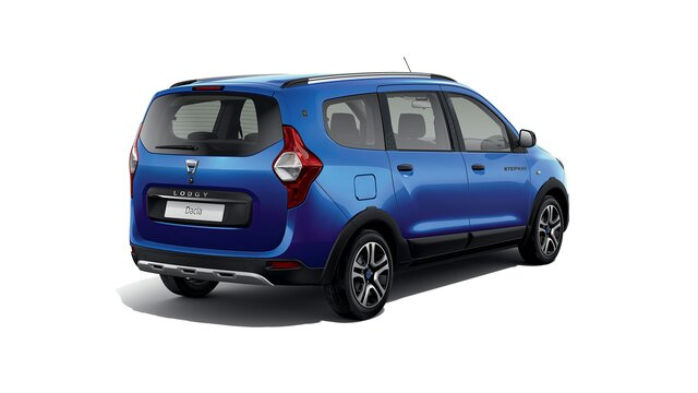 Dacia Lodgy Stepway 15th anniversary Rear 3/4 view