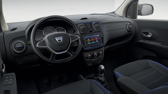 Dacia Lodgy Stepway 15° anniversario design interno