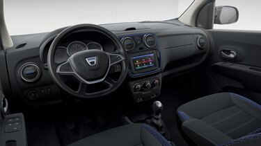 Dacia Lodgy Stepway Celebration - Design interno