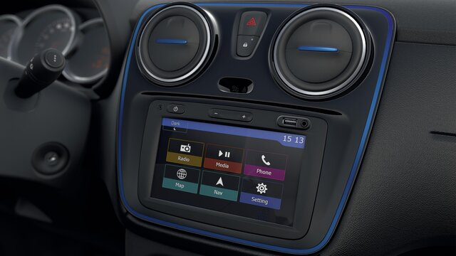 Dacia Lodgy Stepway 15th anniversary interior design