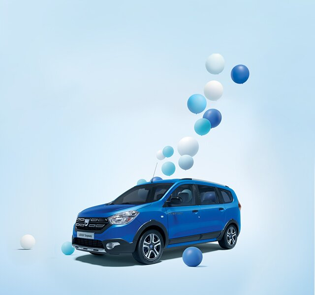 Dacia Lodgy Stepway 15th anniversary design