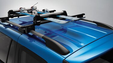 Logan MCV Stepway - Roof bars