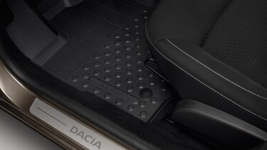 Logan MCV Stepway - Rubber floor mats