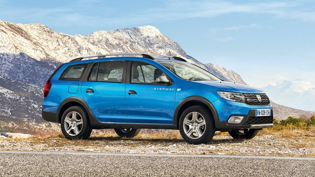Dacia Logan MCV Stepway Video