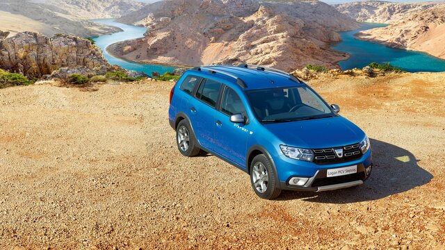 Logan MCV Stepway - Break albastru