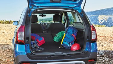 Dacia Logan MCV Stepway Kofferraum