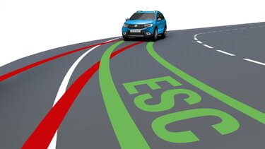 Logan MCV Stepway - Driver assistance systems