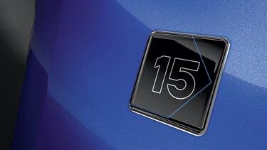 badge spécifique 15 Ans
