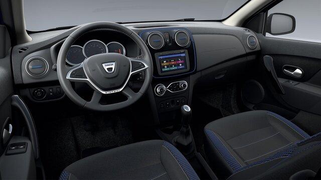 Dacia Logan MCV Stepway 15ème anniversaire design intérieur