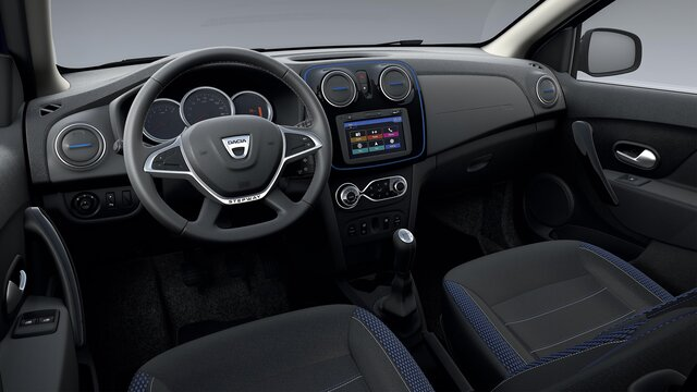 Design intérieur de Dacia Logan MCV Stepway Celebration