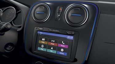 Dacia Logan MCV Stepway 15th anniversary interior design