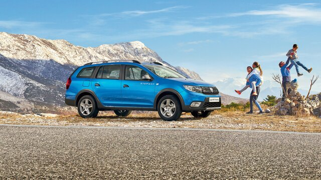 Logan MCV Stepway - Afmetingen en specificaties