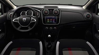 Dacia Logan MCV Stepway Techroad – pogled na unutrašnjost automobila