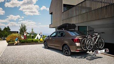 Dacia Logan coffre de toit