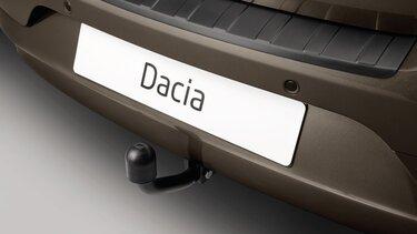 Enganche de remolque cuello de cisne - Dacia Logan