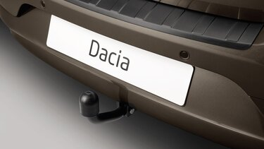 Attelage fixe col de cygne Dacia Logan