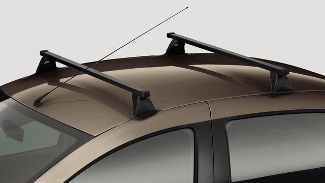 Греди за багажник на покрива на Dacia LOGAN