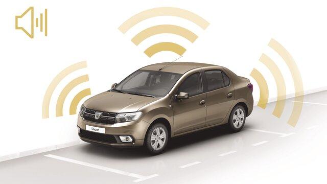 Alarm Dacia Logan