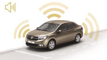 Dacia Logan - Alarmă