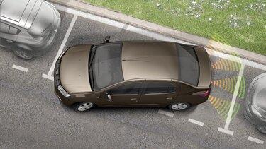 Aide stationnement Dacia Logan