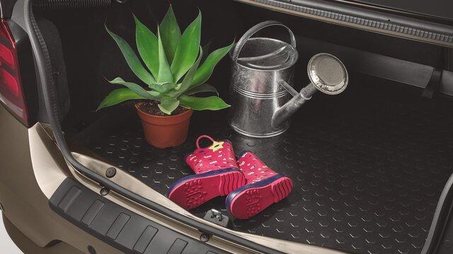 Caixa fundo de bagageira Dacia Logan